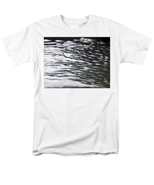 Men's T-Shirt  (Regular Fit) featuring the painting Reflections by Antonio Romero