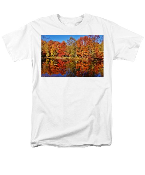 Reflections In Autumn Men's T-Shirt  (Regular Fit) by Ed Sweeney