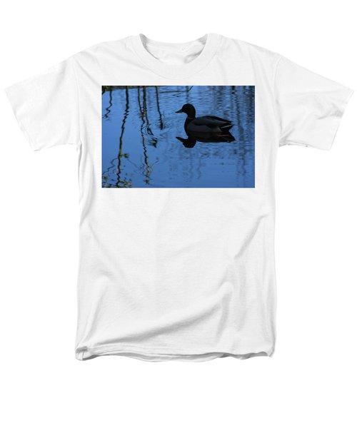 Reflections Of A Duck Men's T-Shirt  (Regular Fit) by John Rossman