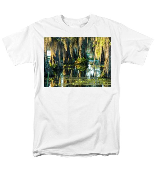 Reflections Of The Times Men's T-Shirt  (Regular Fit) by Kimo Fernandez