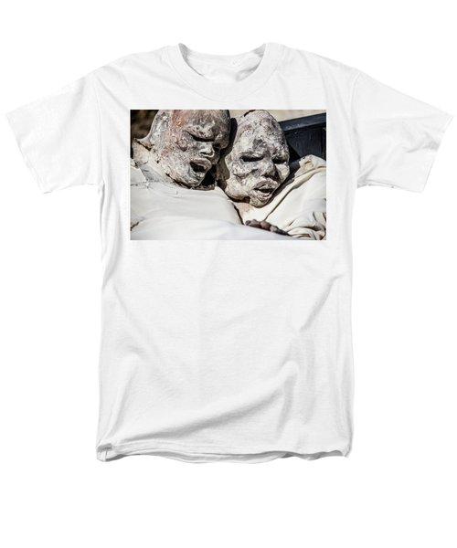 Refuges  Men's T-Shirt  (Regular Fit) by Patrick Boening