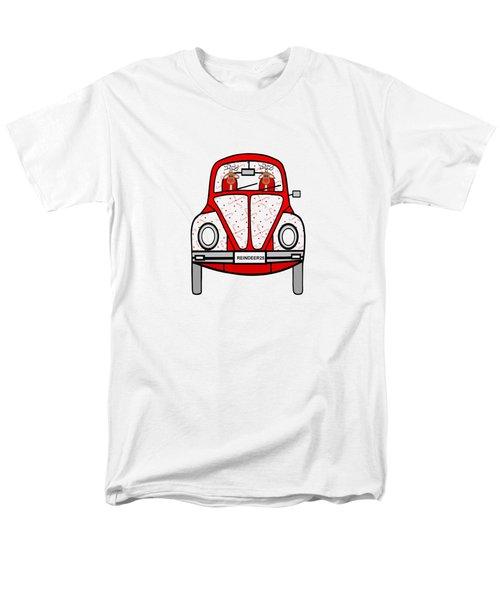 Reindeer Transportation Men's T-Shirt  (Regular Fit) by Kathleen Sartoris