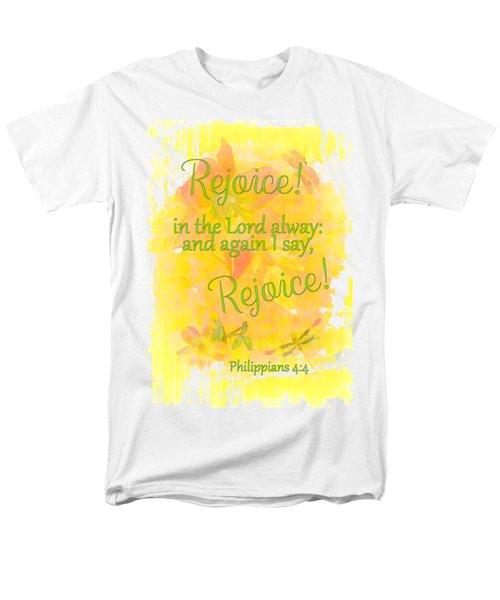 Rejoice Men's T-Shirt  (Regular Fit) by Larry Bishop