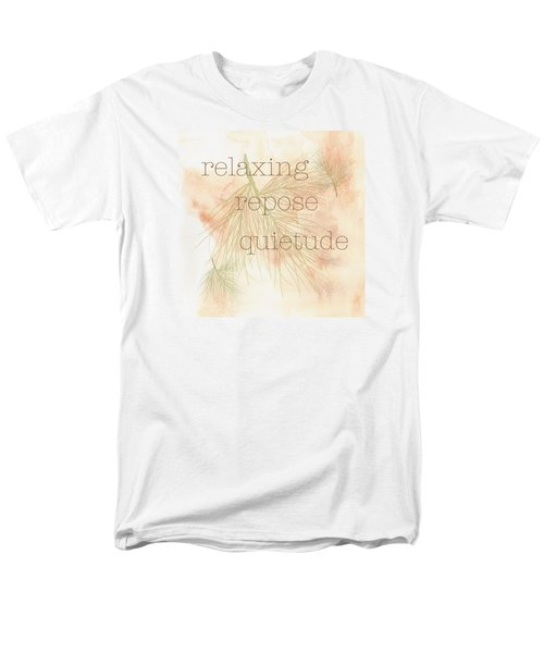 Men's T-Shirt  (Regular Fit) featuring the painting Relaxing by Kandy Hurley