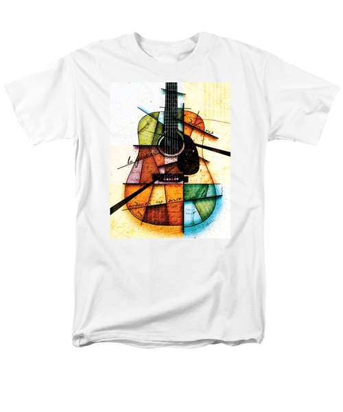 Resonancia En Colores Men's T-Shirt  (Regular Fit) by Gary Bodnar