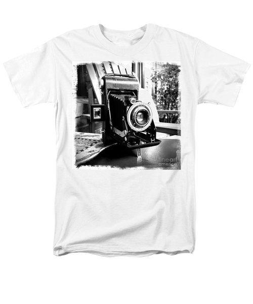 Men's T-Shirt  (Regular Fit) featuring the photograph Retro Camera by Daniel Dempster