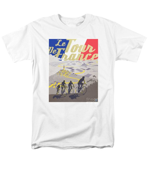 Retro Tour De France Men's T-Shirt  (Regular Fit) by Sassan Filsoof