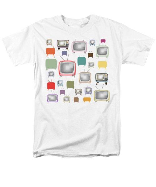 Retro T.v. Men's T-Shirt  (Regular Fit)