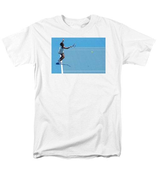 Return - Serena Williams Men's T-Shirt  (Regular Fit) by Andrei SKY
