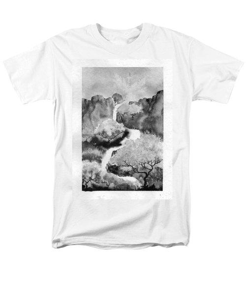 Riviere Celeste Men's T-Shirt  (Regular Fit)
