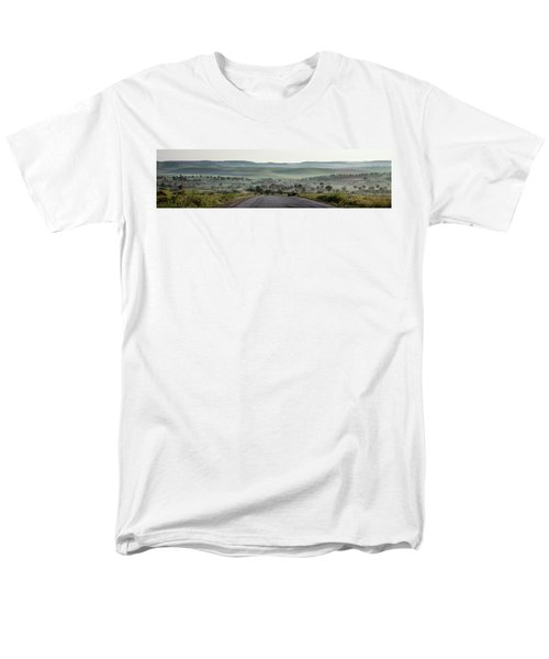 Road To The Forest Men's T-Shirt  (Regular Fit) by Yoel Koskas