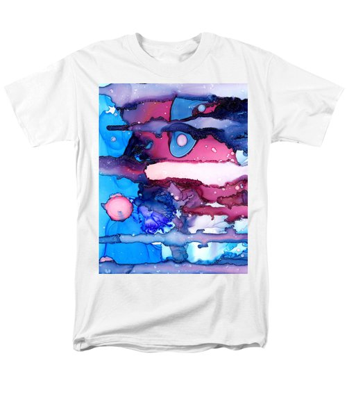 Roaming Free In The Valley Of The Elephants Men's T-Shirt  (Regular Fit) by Sir Josef - Social Critic -  Maha Art