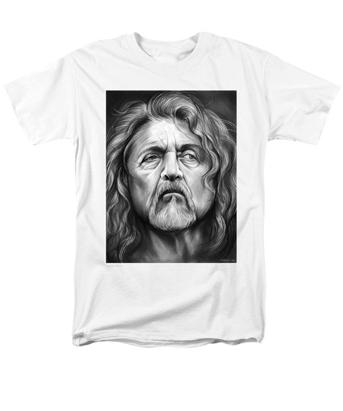 Robert Plant Men's T-Shirt  (Regular Fit) by Greg Joens