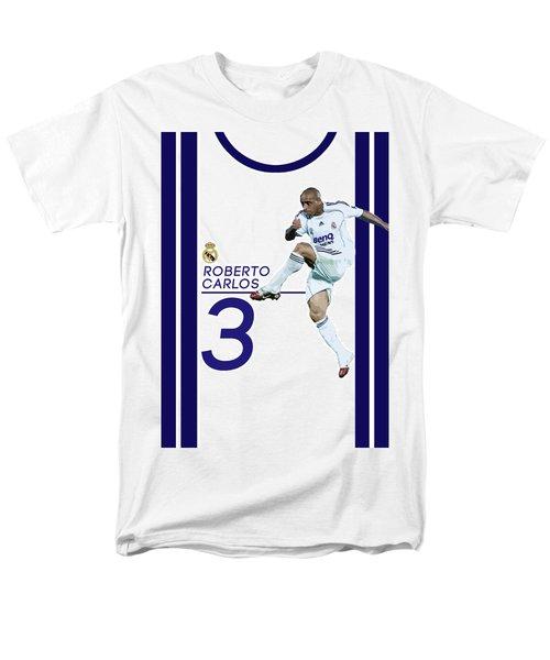 Roberto Carlos Men's T-Shirt  (Regular Fit) by Semih Yurdabak