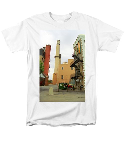 Rochester, Ny - Behind The Bar And Factory 2005 Men's T-Shirt  (Regular Fit) by Frank Romeo