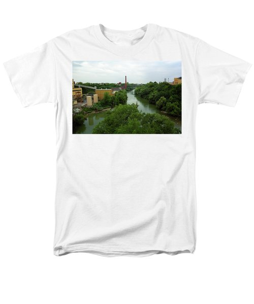 Rochester, Ny - Genesee River 2005 Men's T-Shirt  (Regular Fit) by Frank Romeo