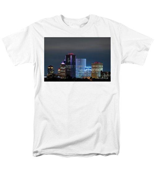 Rochester Ny Twilight Men's T-Shirt  (Regular Fit)