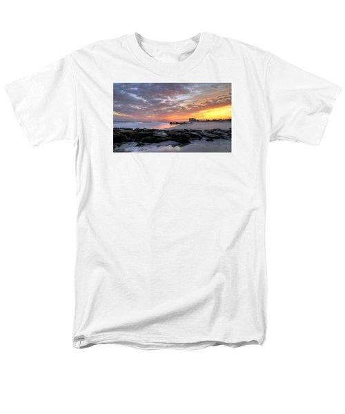 Rock On Men's T-Shirt  (Regular Fit) by John Loreaux