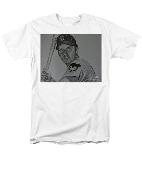 Ron Santo Portrait Men's T-Shirt  (Regular Fit) by Melissa Goodrich