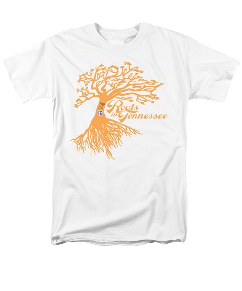 Men's T-Shirt  (Regular Fit) featuring the photograph Roots In Tn Orange by Heather Applegate