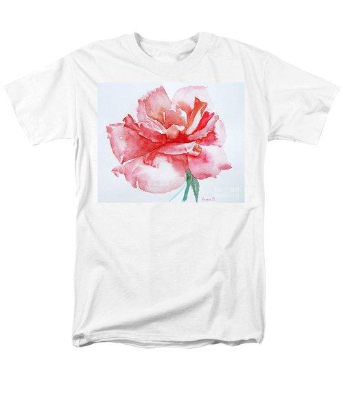 Rose Pink Men's T-Shirt  (Regular Fit) by Jasna Dragun