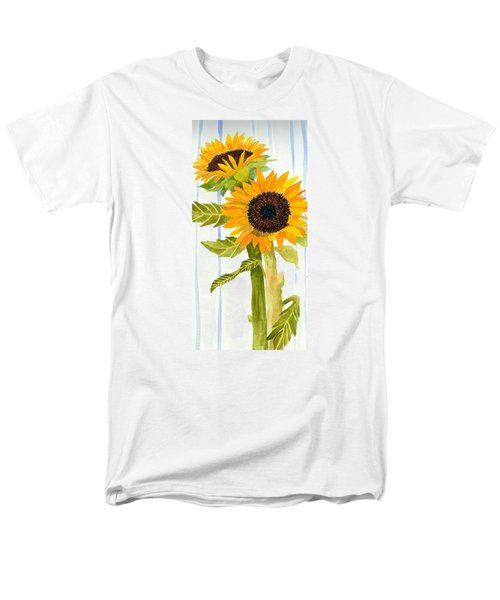 Rosezella's Sunflowers II Men's T-Shirt  (Regular Fit) by Anne Marie Brown