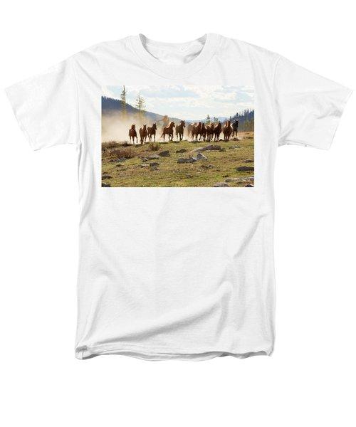 Round Up Men's T-Shirt  (Regular Fit) by Sharon Jones