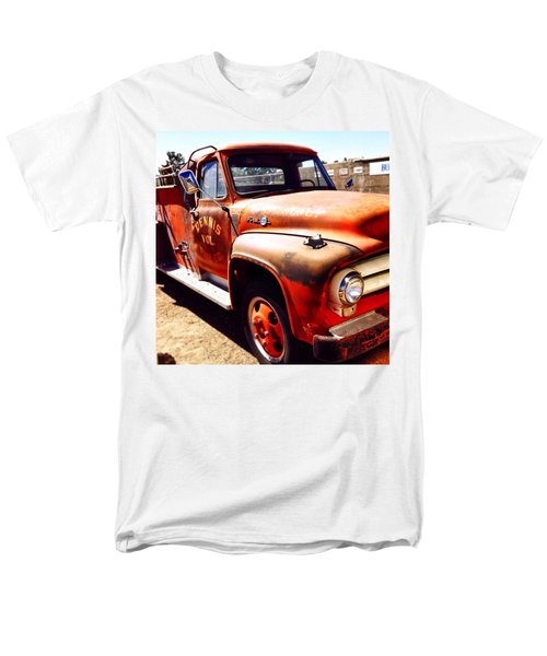 Route 66 Men's T-Shirt  (Regular Fit) by Mark David Gerson