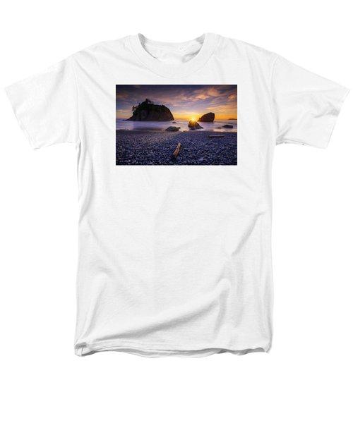 Men's T-Shirt  (Regular Fit) featuring the photograph Ruby Beach Dreaming by Dan Mihai