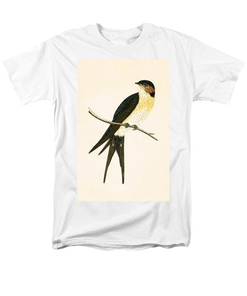 Rufous Swallow Men's T-Shirt  (Regular Fit) by English School