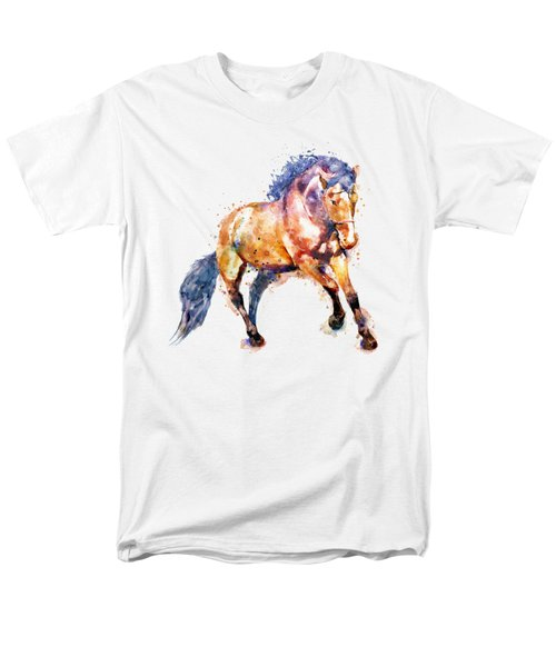 Running Horse Men's T-Shirt  (Regular Fit) by Marian Voicu