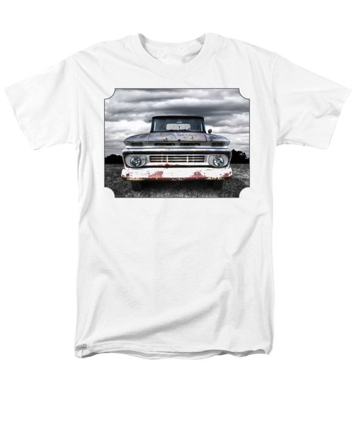 Rust And Proud - 62 Chevy Fleetside Men's T-Shirt  (Regular Fit) by Gill Billington