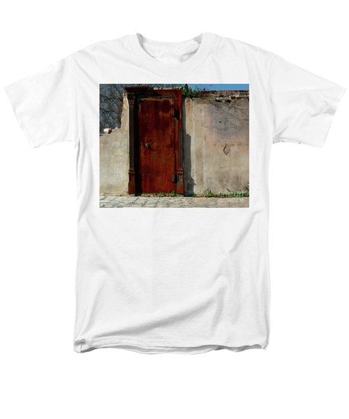 Rustic Ruin Men's T-Shirt  (Regular Fit) by Lori Mellen-Pagliaro