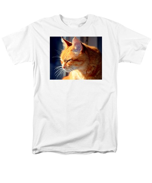 Men's T-Shirt  (Regular Fit) featuring the photograph Rusty, Blind And Deaf Extraordinaire by Antonia Citrino