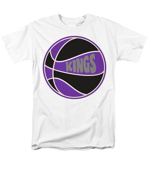 Sacramento Kings Retro Shirt Men's T-Shirt  (Regular Fit) by Joe Hamilton