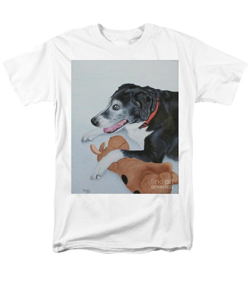 Men's T-Shirt  (Regular Fit) featuring the painting Sadie by Mike Ivey