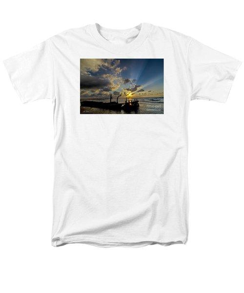 Safe Shore 03 Men's T-Shirt  (Regular Fit) by Arik Baltinester