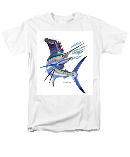 Sailfish Digital Men's T-Shirt  (Regular Fit) by Carey Chen