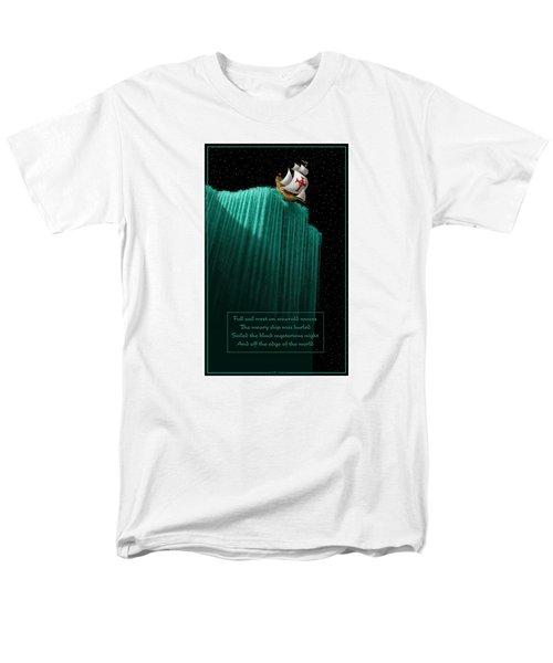 Sailing Off The Edge Of The World Men's T-Shirt  (Regular Fit) by Scott Ross