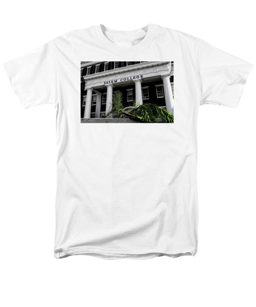 Men's T-Shirt  (Regular Fit) featuring the photograph Salem College by Jessica Brawley