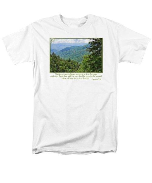 Salvation Eternal Men's T-Shirt  (Regular Fit) by Larry Bishop