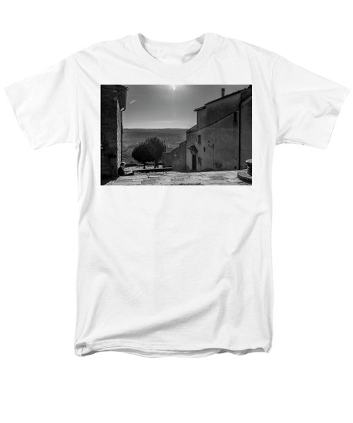 Men's T-Shirt  (Regular Fit) featuring the photograph San Francesco Monastery - Fiesole, Italia. by Sonny Marcyan