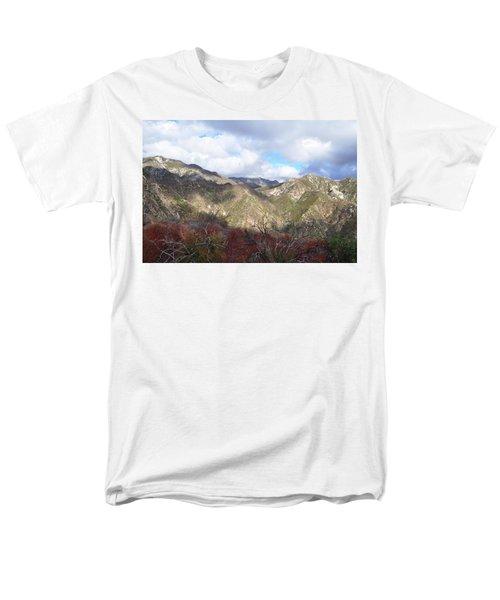 San Gabriel Mountains National Monument Men's T-Shirt  (Regular Fit) by Kyle Hanson