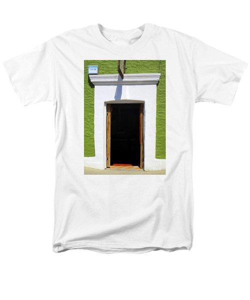 San Jose Del Cabo Door 7 Men's T-Shirt  (Regular Fit) by Randall Weidner