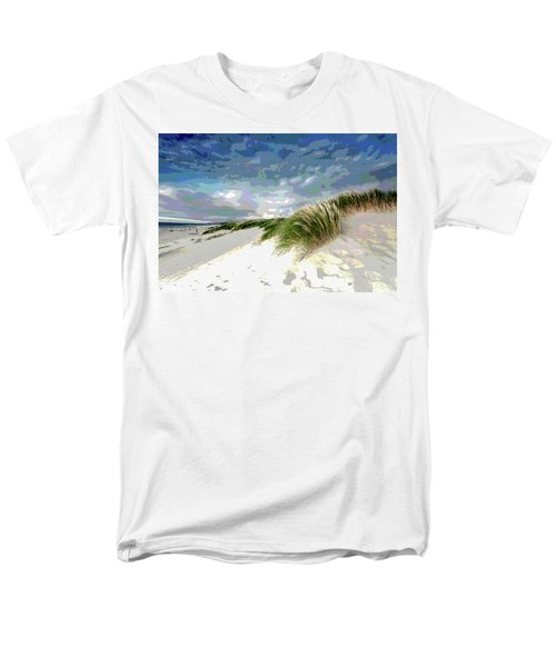 Sand And Surfing Men's T-Shirt  (Regular Fit) by Charles Shoup