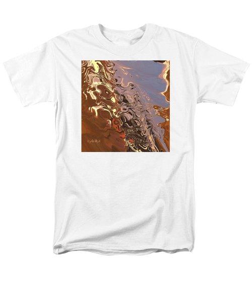 Sand Bank Men's T-Shirt  (Regular Fit) by Alika Kumar
