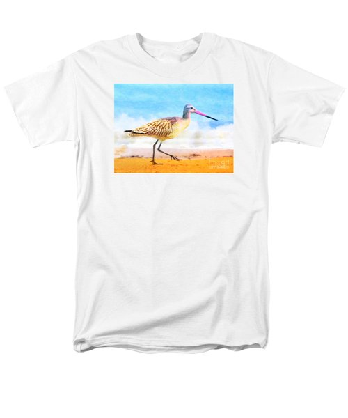 Men's T-Shirt  (Regular Fit) featuring the painting Sand Between My Toes ... by Chris Armytage