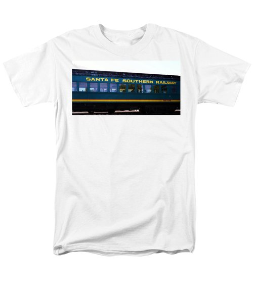 Santa Fe Train Men's T-Shirt  (Regular Fit) by Joseph Frank Baraba
