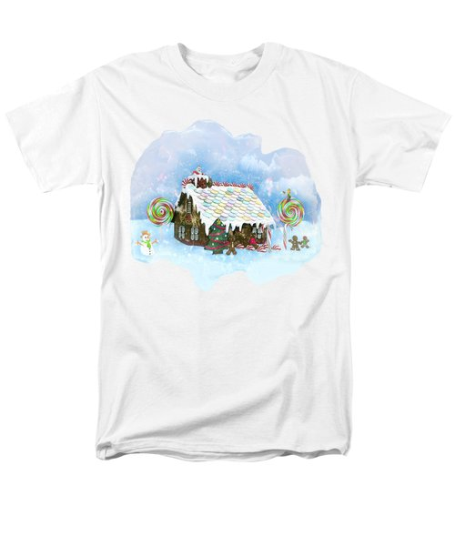 Santa Loves Cookies Men's T-Shirt  (Regular Fit) by Methune Hively