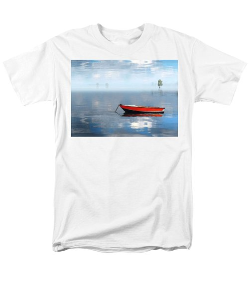 Santee Lakes Serenity Men's T-Shirt  (Regular Fit) by Deborah Smith
